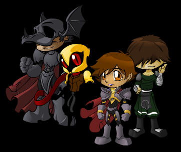 Chibi DragonFable Characters